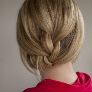 Tucked braid hairstyle hero web