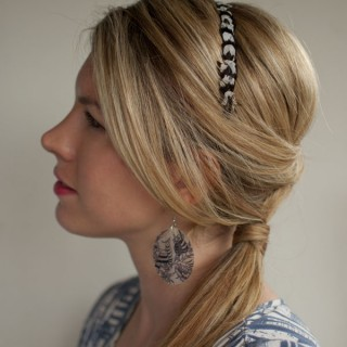 30 Days of Twist & Pin Hairstyles – Day 24