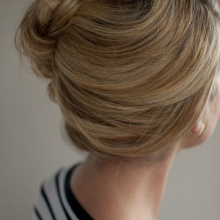 loose side french twist hairstyle hero web