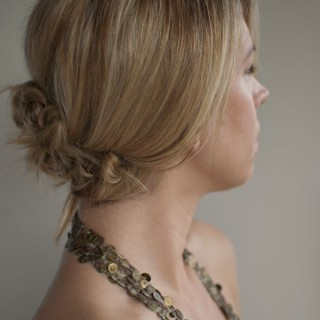 low twist and pin chignon hairstyle hero web