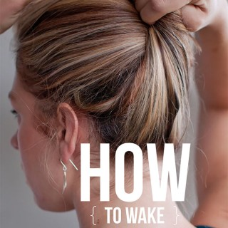 How to wake up with great hair