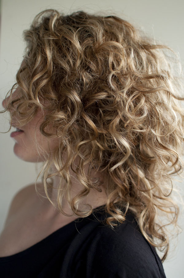 Hair Romance with her gorgeous curls