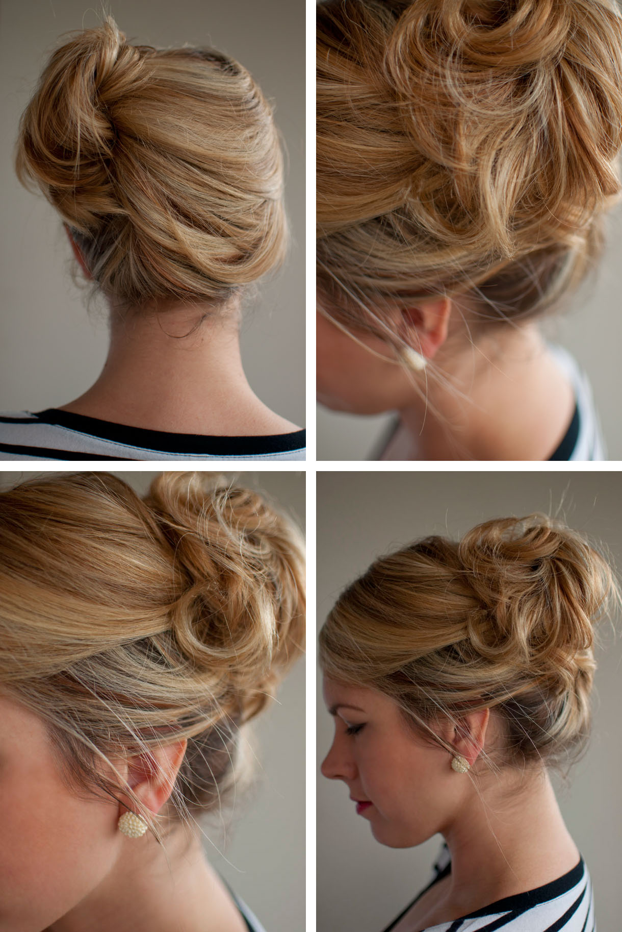 Stunning Side French Twist Hairstyle 1220 x 1826 · 331 kB · jpeg