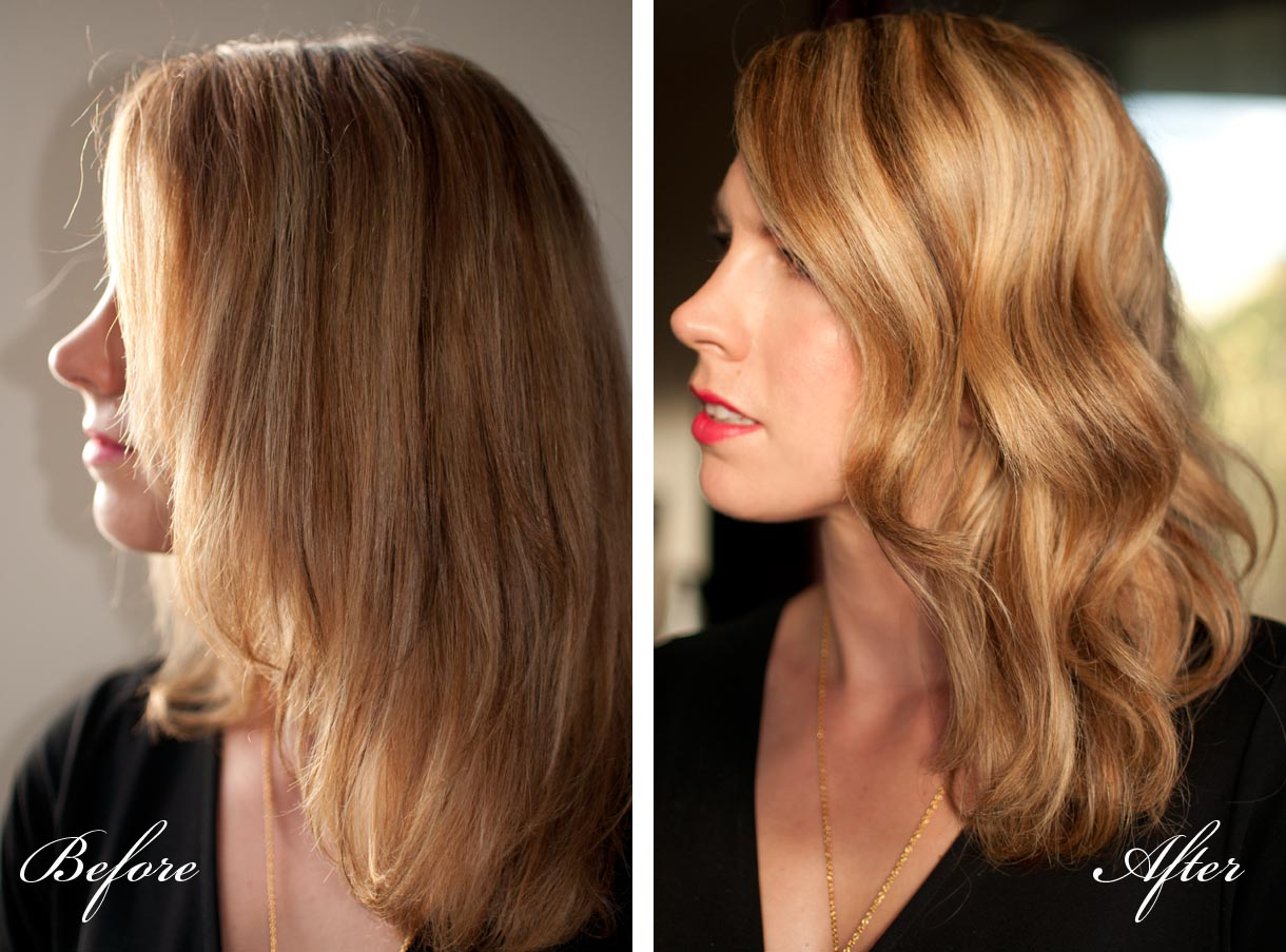 ... perfect waves with the Modiva Professional curling iron - Hair Romance
