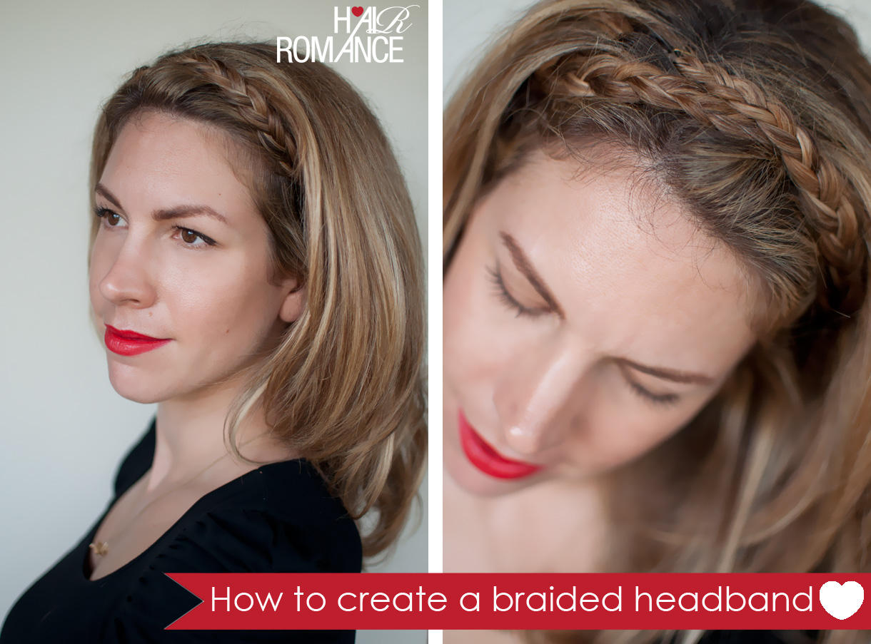 Impressive Braided Headband Hairstyle Tutorial 1220 x 903 · 326 kB · jpeg