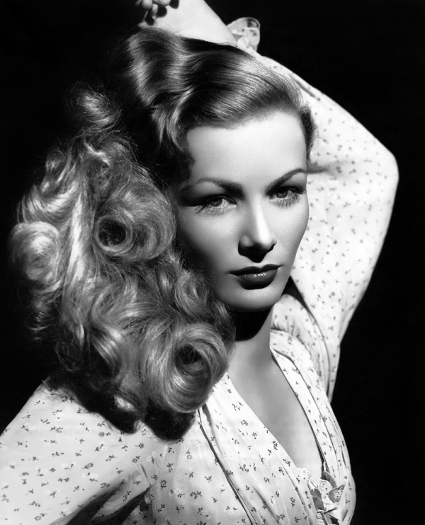 this shot  Veronica demonstrates the perils of working with your hair    Veronica Lake Hair Red Carpet