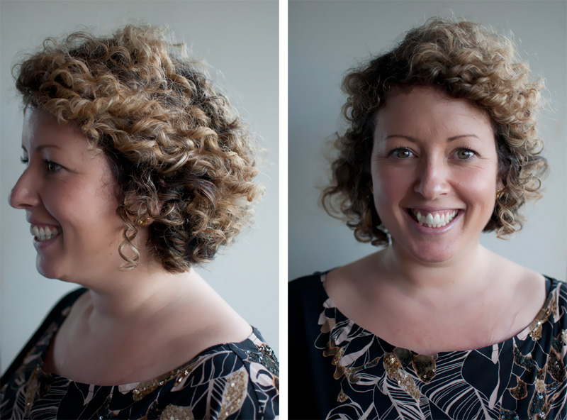 How To Style Short Curly Hair Hair Romance