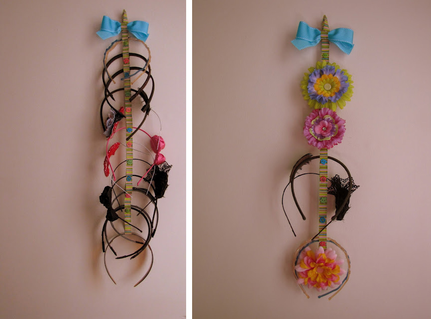 Headband Storage Ideas Hair Romance