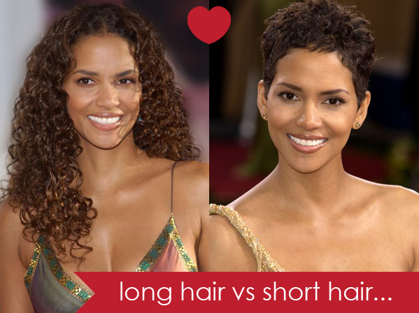 Long hair vs short hair - Hair Romance