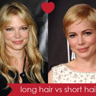 Long hair vs short hair