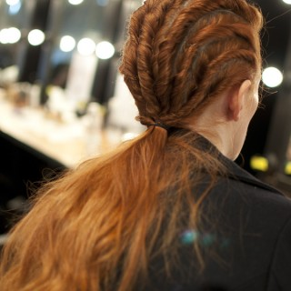 Twists are the new braids – Backstage at Oroton