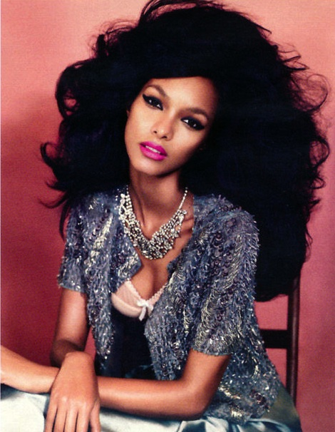 Lais Ribeiro Vogue Germany March 2012