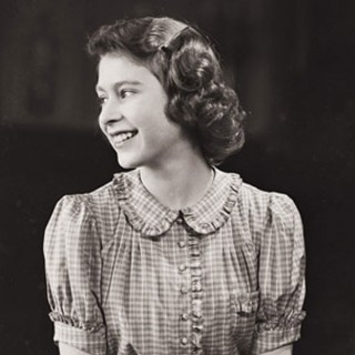 Queen Elizabeth II - hair - young portrait