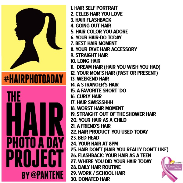 Hair Photo a day project