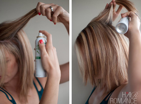 How To Use Dry Shampoo Hair Romance