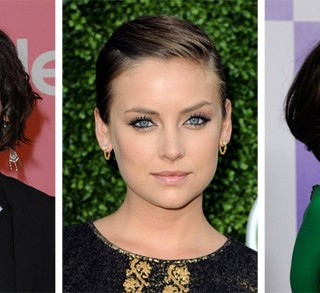 Jessica Stroup hair - one bob - three ways