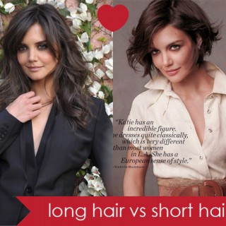 Long hair vs short hair…