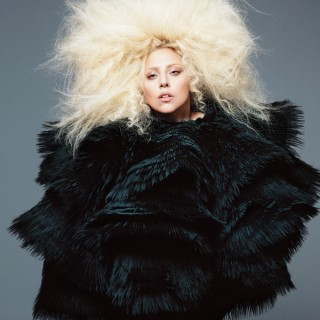 Lady Gaga - US Vogue - BIG hair