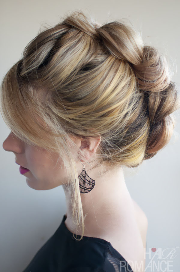 Updo Hairstyles with Braid