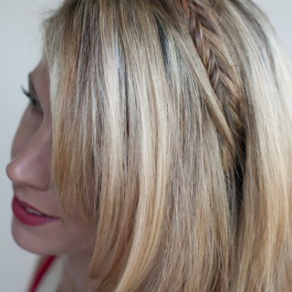 Hair Romance - 30 braids 30 days - 14 - the fishtail braid headband