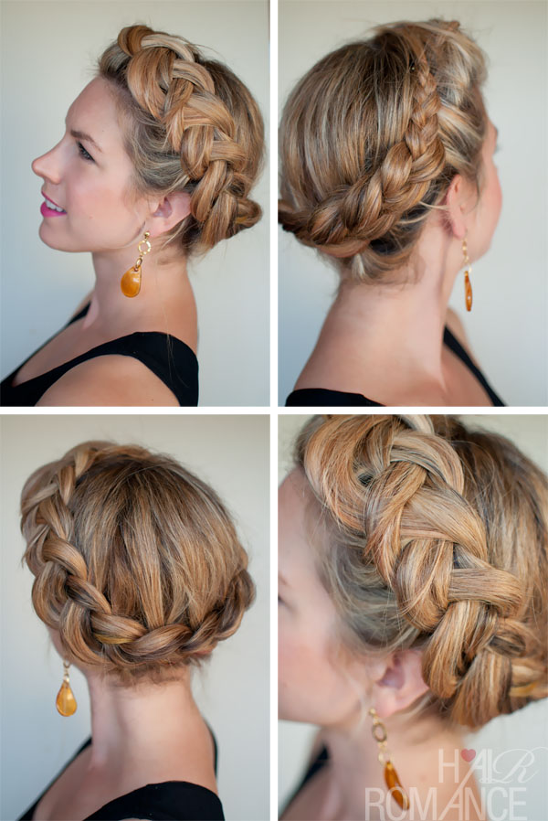Hair Romance - 30 braids 30 days - 22 - the Dutch Ring Braid