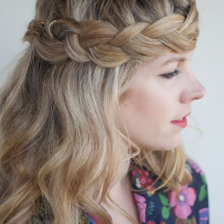 Hair Romance - 30 braids 30 days - 30 - the crown braid