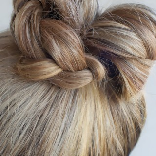 Hair Romance - 30 braids 30 days - 7 - the braid bun