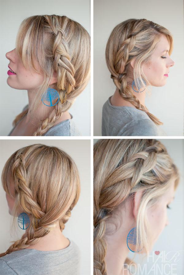 Hair romance 30 braids 30 days 8 dutch braid pigtails