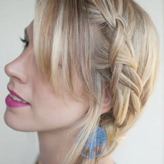 Hair Romance - 30 braids 30 days - 8 - dutch braided pigtails