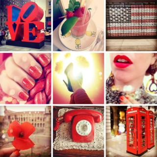 pictureit4stevie - red instagram inspiration