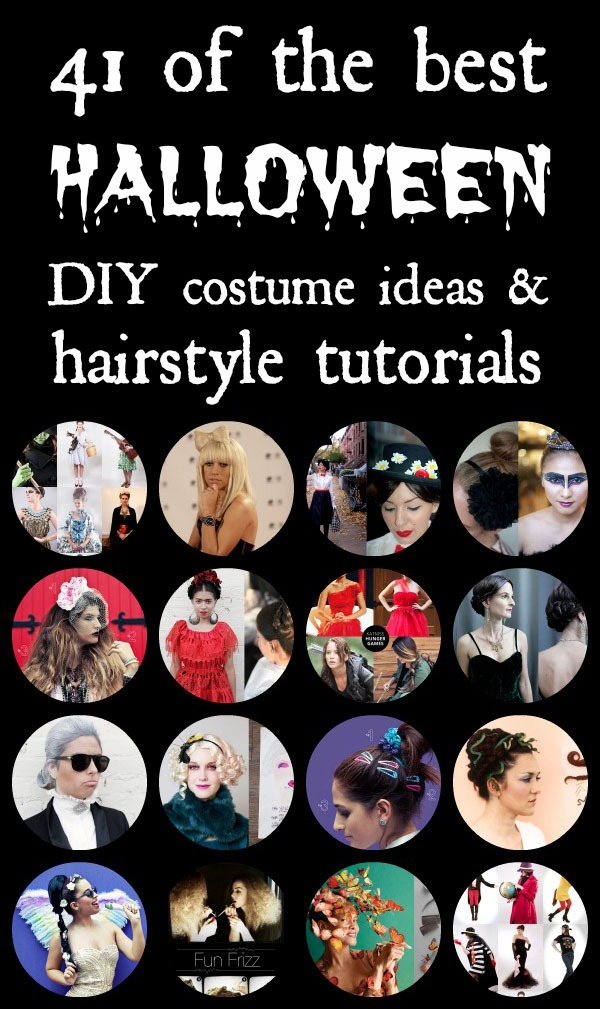 41 of the best DIY Halloween costumes and hairstyle tutorials