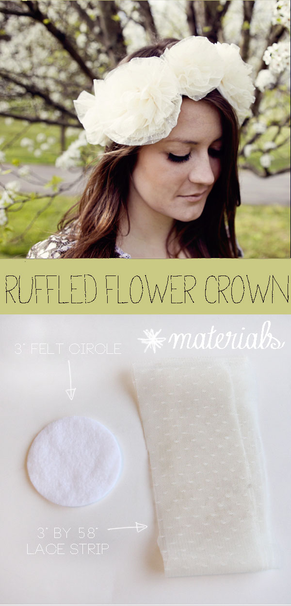 How to Make Your Own Flower Crown Create Your Own Flower Crown