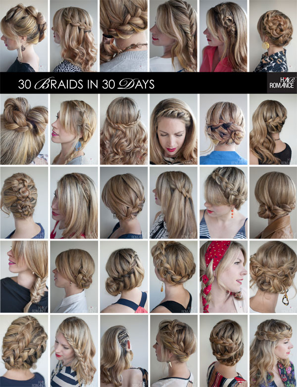 30 Braids in 30 Days contains all the tips, tricks and tutorials to ...