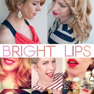 Makeup Monday: How a bright lip can change your day