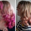 Hair Romance - pink hair fade over 3 weeks