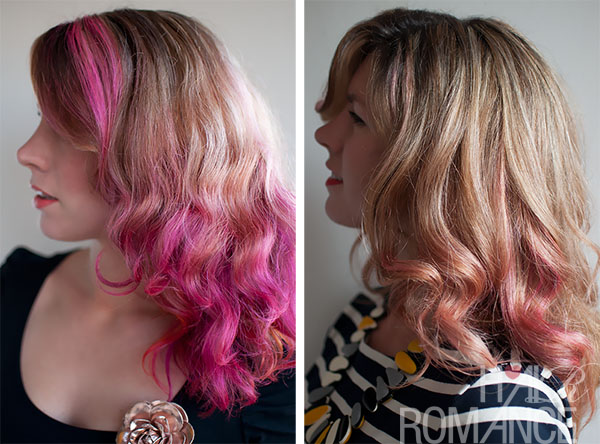 Hair Romance - pink hair fade over 3 weeksPink Brown Hair Dye