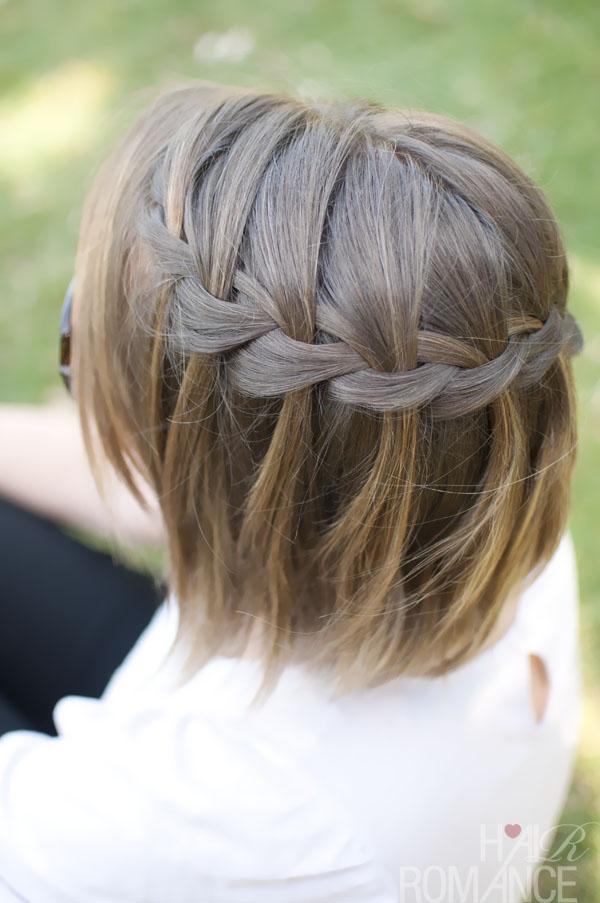 quick hairstyles with braiding hair : Short Cut Saturday - Braids for short hair - Hair Romance