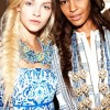 NYFW braids - Tory Burch fishtail braids SS13