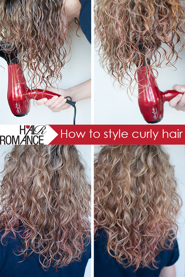 Hair Romance How to style curly hair