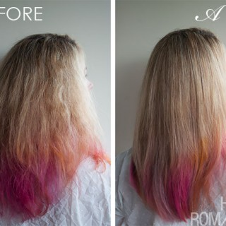 Before and After with the L'Oreal Professional Steam Pod