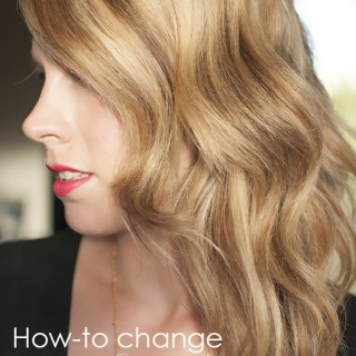 How to change your hair colour from brunette to blonde