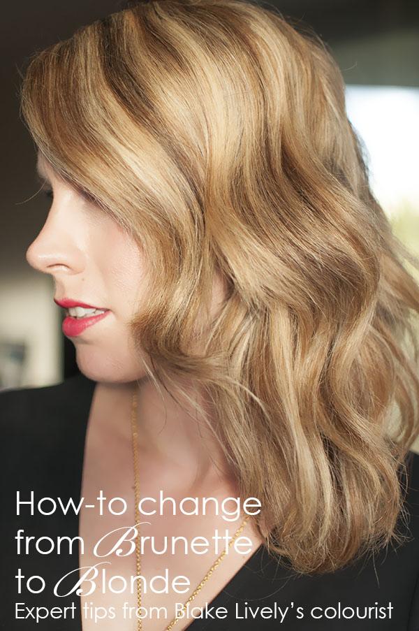 Brunette To Blonde Hair Color 116