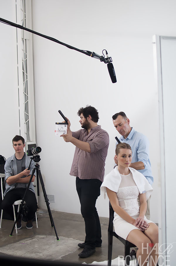 Alan White - ghd - behind the scenes 4
