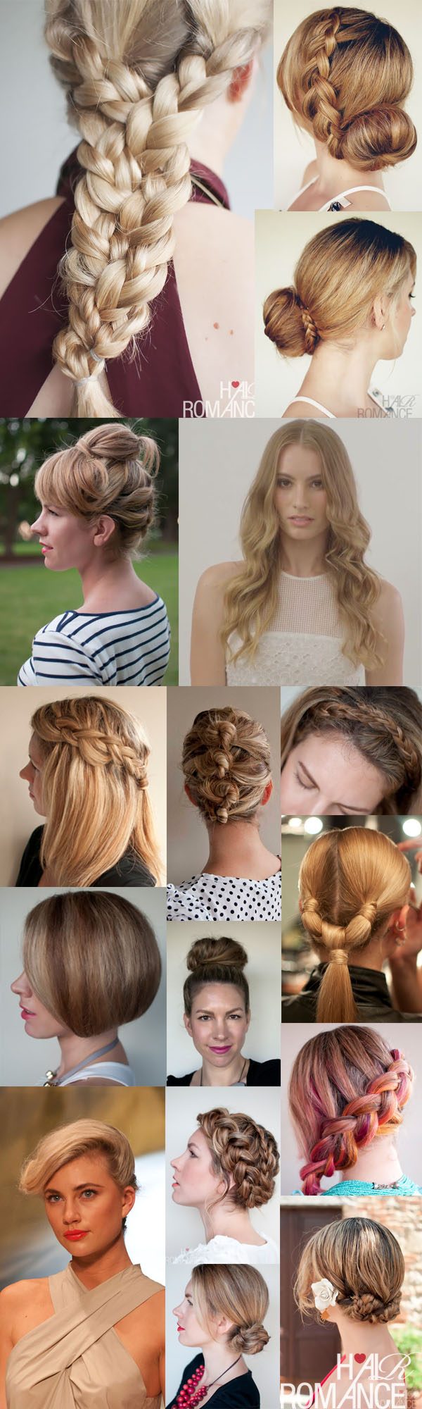 Hair Romance - Hairstyle tutorials