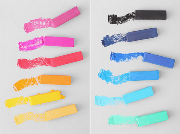 Hair Romance - hair chalk from urban outfitters