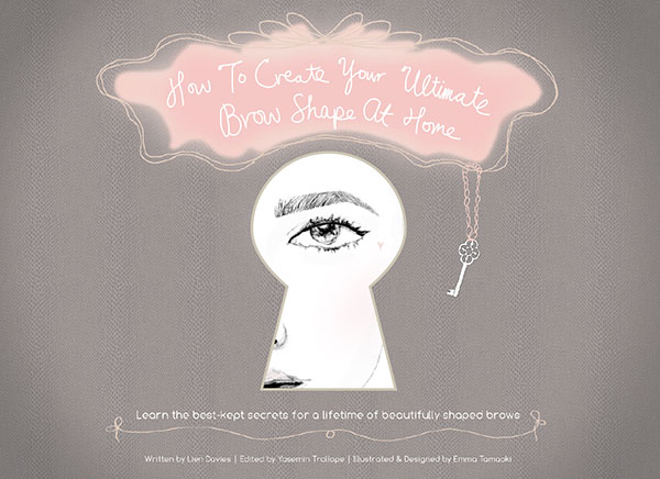How to create your ultimate brow shape ebook by Lien Davies