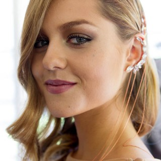 Long hair trends 2013 – Deep side parts and statement earpieces