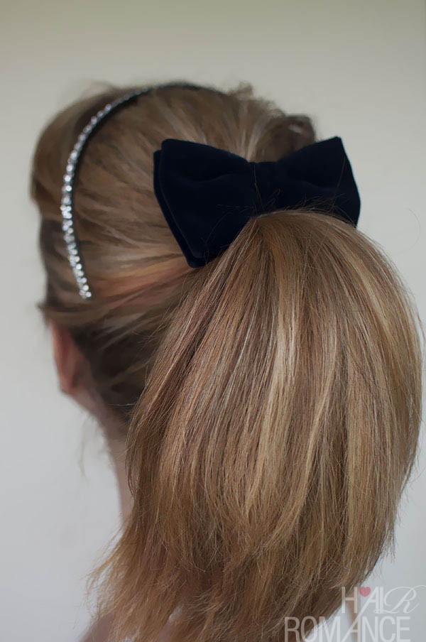 Pretty Ponytail Tutorial by Hair Romance2
