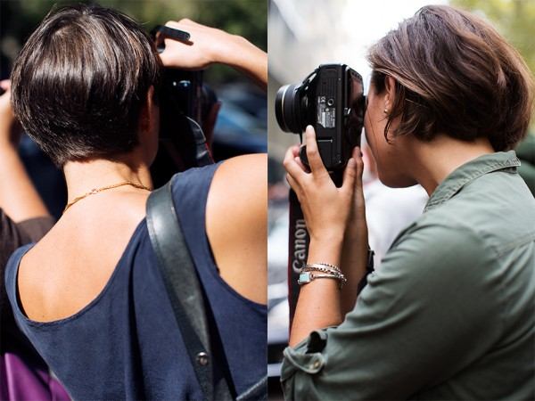 Short hair inspiration from The Sartorialist