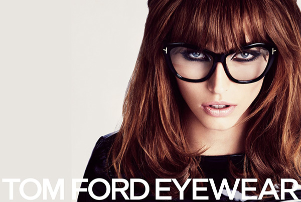 Tom Ford Eyewear Campaign - Big 1960s hair